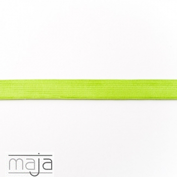 Elastisches Gummiband 15 mm hell lime