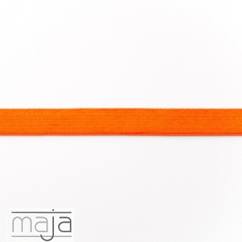 Elastisches Gummiband 15 mm orange